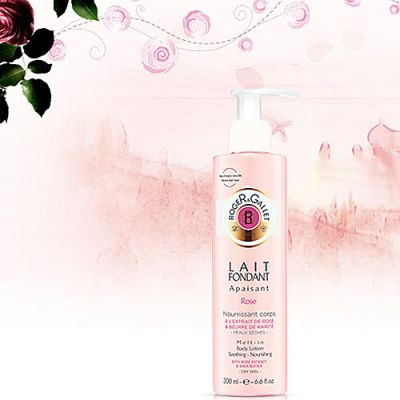 Roger & Gallet Rose Lait Fondant 200ml