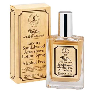 Taylor of Old Bond Street Soap Sandelwood After Shave Spray 30ml