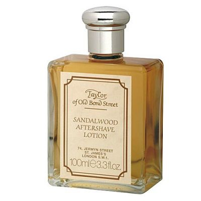 Taylor of Old Bond Street Soap Sandelwood After Shave Lotion 100ml