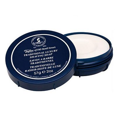 Taylor of Old Bond Street Traditional Shaving Hard-Soap Bowl 57g