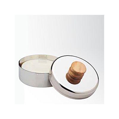 Seifenschale mit Seife, Olivenholzgriff 1 Stück