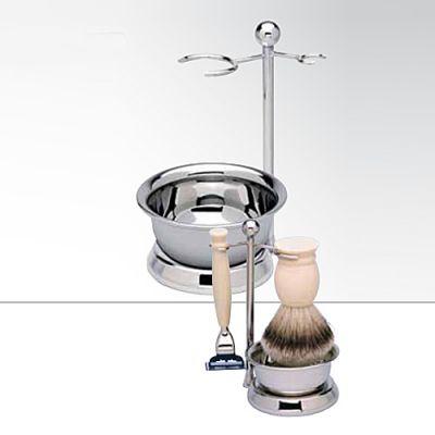 Rasier- und Rasierpinselhalter mit Schale 1 Stück