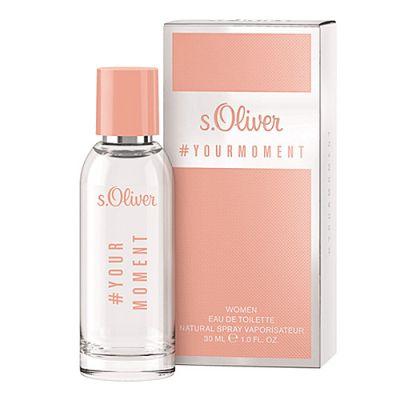 s.Oliver # Your Moment Women Eau de Toilette Spray 30ml
