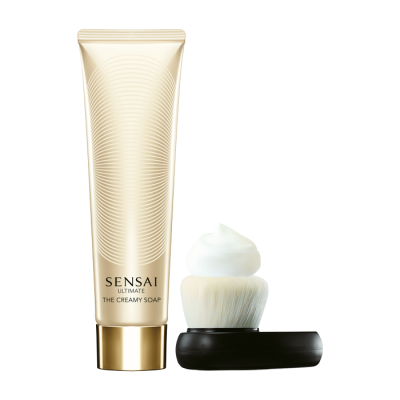 Sensai Ultimate The Creamy Soap + Brush 125ml
