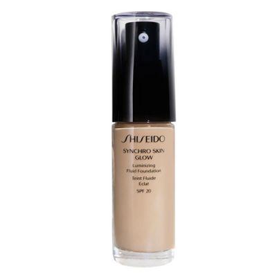 Shiseido Synchro Skin Glow Luminizing Fluid Foundation 30ml-Golden 2