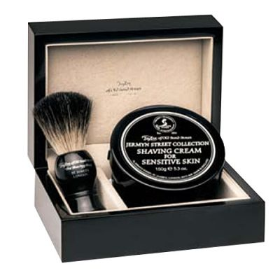 Taylor of Old Bond Street Jermyn Street Lacquered Wooden Gift Box Pure Badger 1 Stück