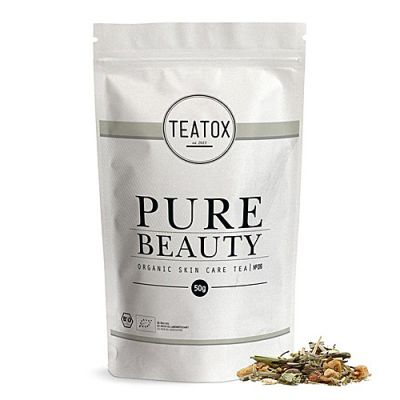 TEATOX Pure Beauty Organic Skin Care Tea Refill 50g