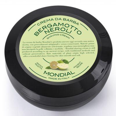 Mondial Shaving Cream Plexi Bowl Bergamotto Neroli 150ml