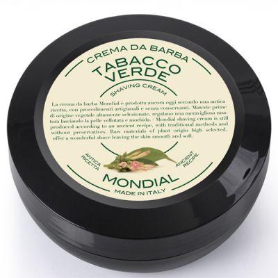 Mondial Shaving Cream Plexi Bowl Tabacco Verde 150ml