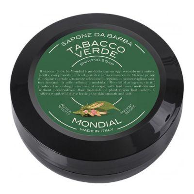 Mondial Shaving Soap Travel Pack Tabacco Verde 60g