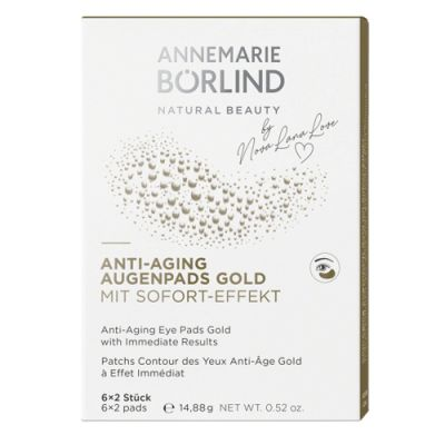 ANNEMARIE BÖRLIND Anti-Aging Augenpads Gold 6 Stück