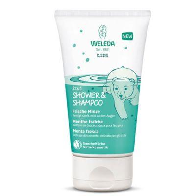 Weleda Kids 2in1 Shower & Shampoo Frische Minze 150ml