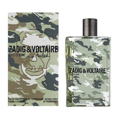 Zadig & Voltaire This is Him ! No Rules Eau de Toilette