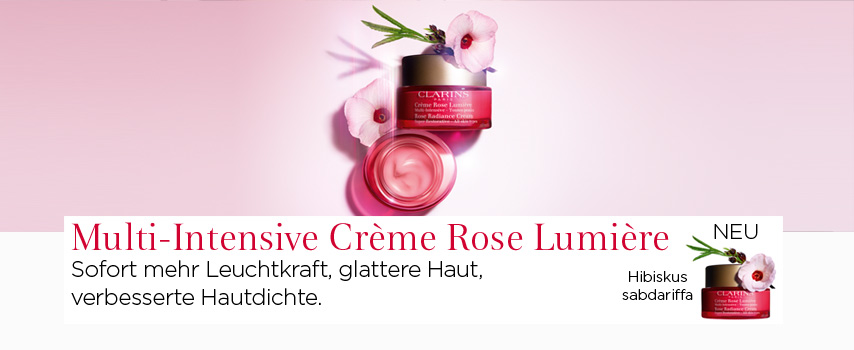 Clarins Multi-Intensive Crème Rose Lumière 50ml